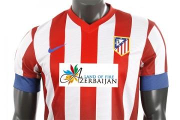 Atletico Madrid azerbaijan sponsor patrocina