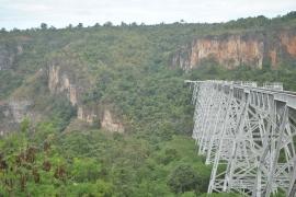 viaducto Goteik Myanmar
