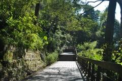 Sun Moon Lake trail path
