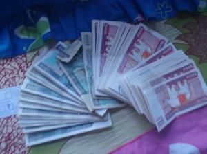 kyats moneda Myanmar